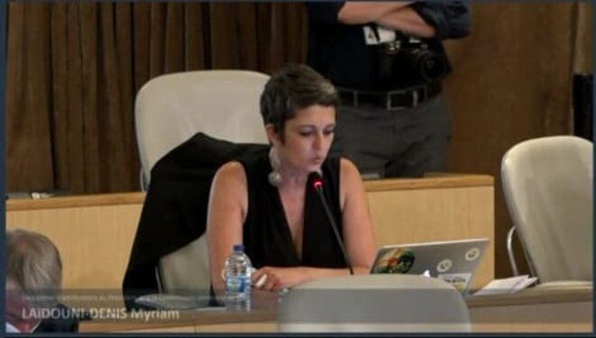 Myriam Laïdouni-Denis Intervention assemblée 2/07/21