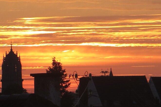 samedi 3 juillet juste avant le lever du soleil © GTK