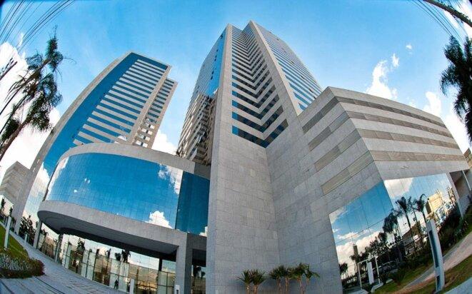 La société Global Gestão em Saúde a pour adresse un gratte-ciel luxueux du quartier huppé de Barueri, à São Paulo. © DR / Canopus