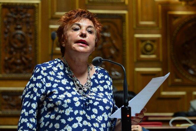 Esther Benbassa. © Daniel Pier / NurPhoto via AFP