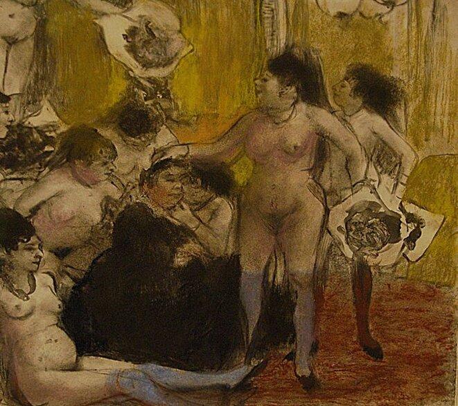 La fête de la patronne (1878-79) © Edgar Degas