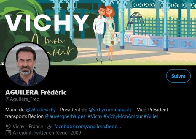 Frédéric Aguilera, actif twitto et consultant réseaux sociaux fictif.