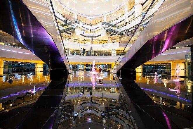 Photographie d'un centre commercial à Nahda, Dubaï (Emirats arables unis), en 2020. Source: Wikimedia Commons © AlbeitPK