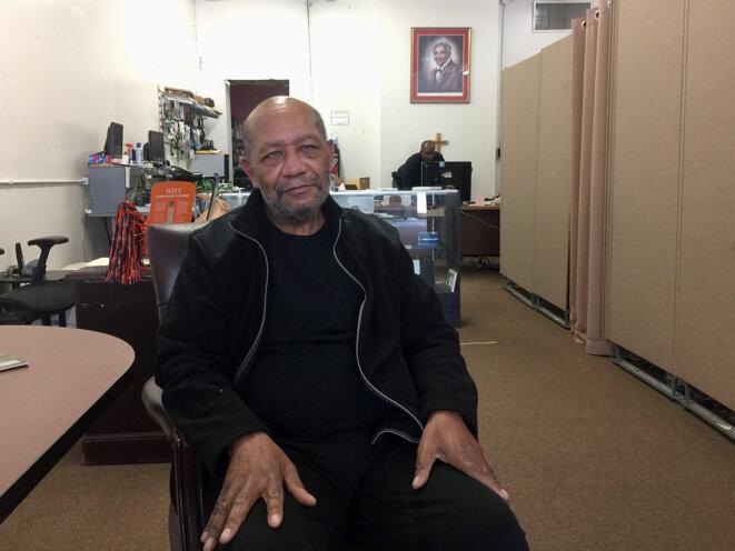 Natif de Tuskegee, Anthony Lee a fini par se faire vacciner : « J'ai vu une jeune femme noire qui a participé à son développement en parler. Ça m'a convaincu. » © AB