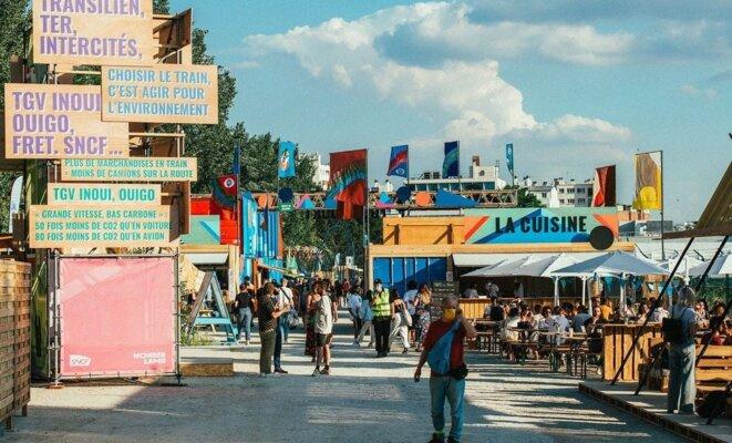 L'allée du festival © Wonderland - We Love Green
