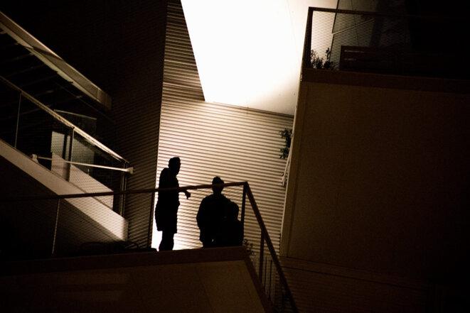 La nuit, propice aux dissidents. © Photo Iselyne Perez-Kovacs / APJ / Hans Lucas via AFP