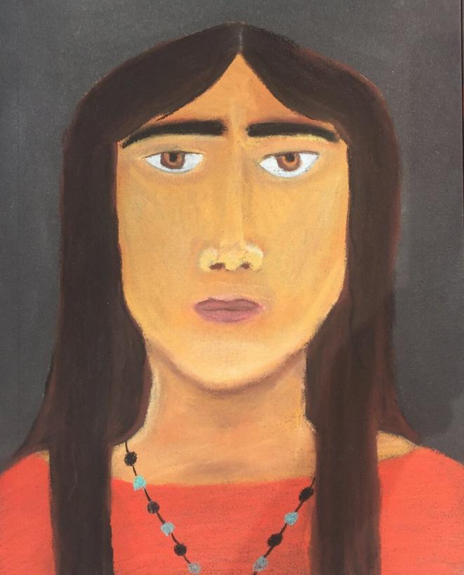L'une des peintures de Tiffany Mcdaniel inspirée de son livre Betty. © DR