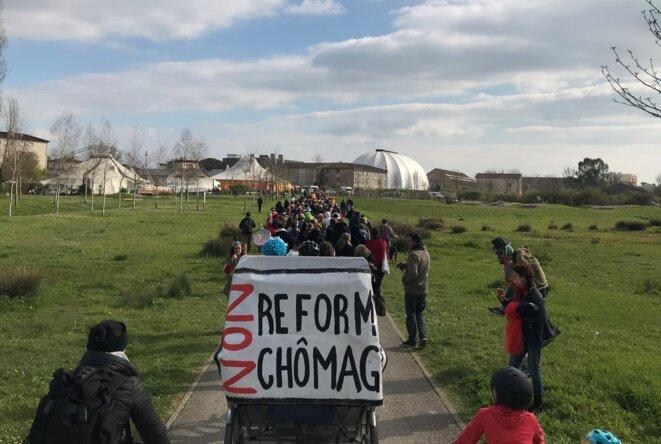 Manifestation contre la réforme chômage [Photo YF]