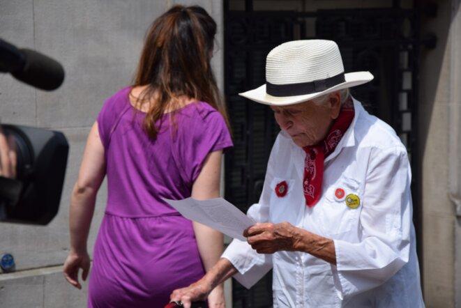 Germaine, 92 ans, force le respect parmi les opposants au GCO !