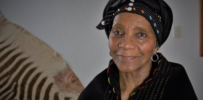 L'écrivaine sud-africaine Sindiwe Magona © Bjorn Rudner