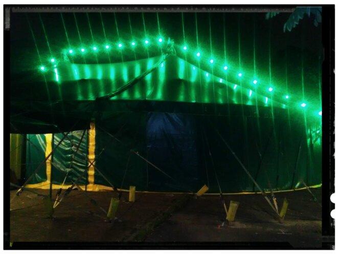 Chapiteau du Cirque Ici ©Joël Cramesnil