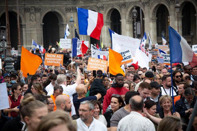 Samedi 17 juillet à Paris. © DUPRAT Stéphane / Hans Lucas via AFP
