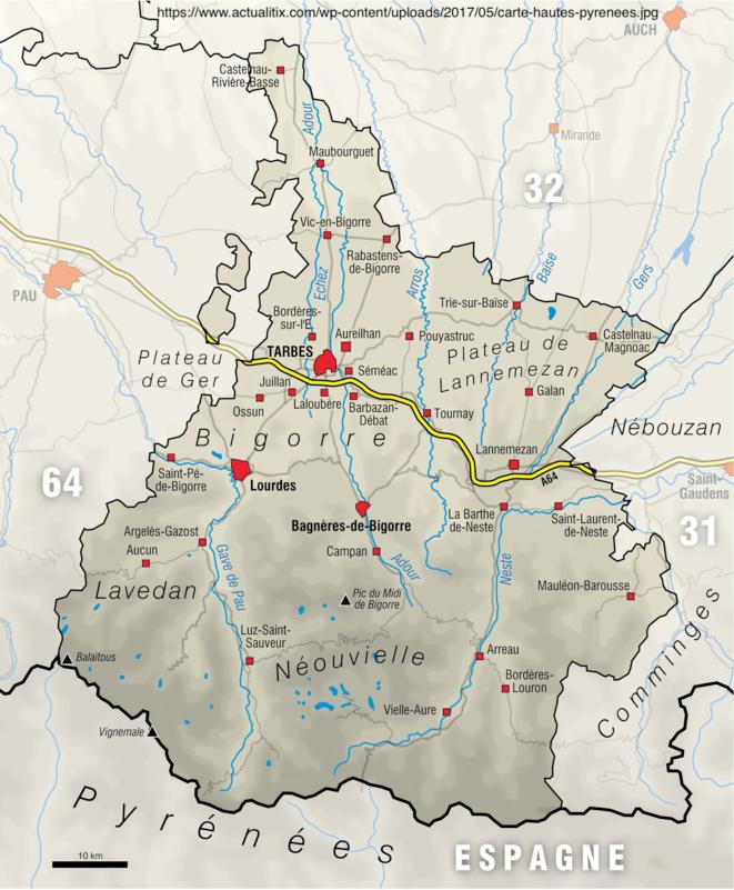 La carte des rivières en Hautes-Pyrénées.png © https://www.actualitix.com/wp-content/uploads/2017/05/carte-hautes-pyrenees.jpg