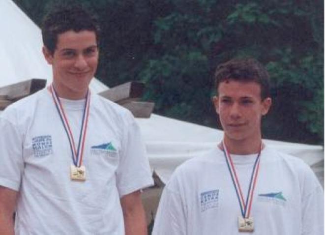 Samuel HERNANZ et Boris NEVEU Championnats de France 2002 © HPSN