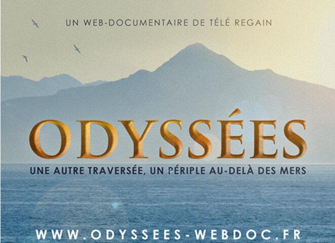 """Sur télé-regain """"Odyssées"""" © télé-regain copie d'écran"""