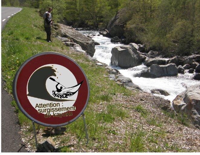 Attention ! Surgissement de kayaks ! © AB