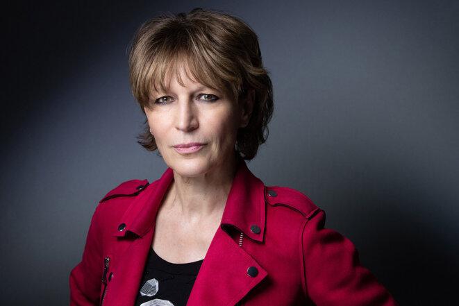 La secrétaire générale d'Amnesty International, Agnès Callamard, en avril 2021. © Photo Joel Saget / AFP