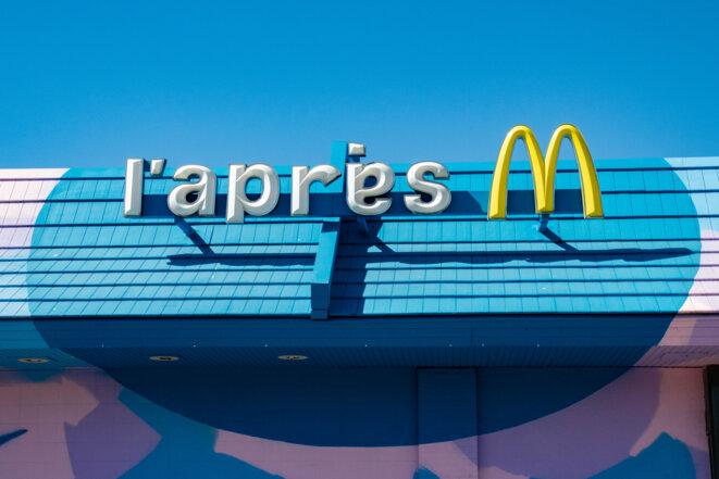L'Apres M, ancien McDonald's des quartiers nord de Marseille © Jus