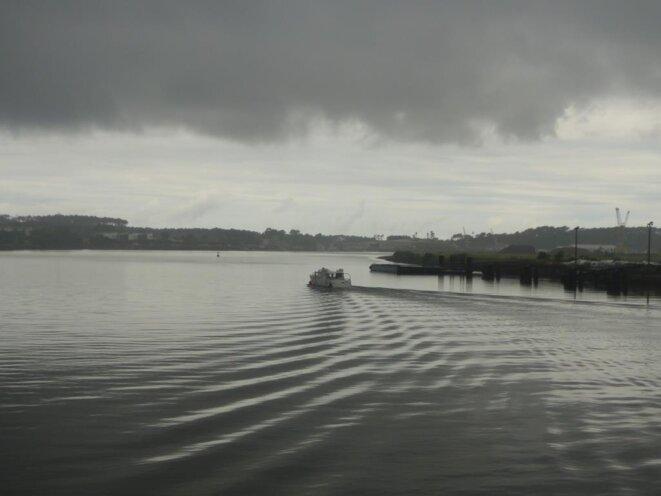 Le fleuve volé  par les bayonnais : l'Adour !