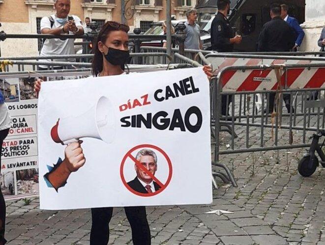 Président Diaz Canal, enfoiré ! © inconnu