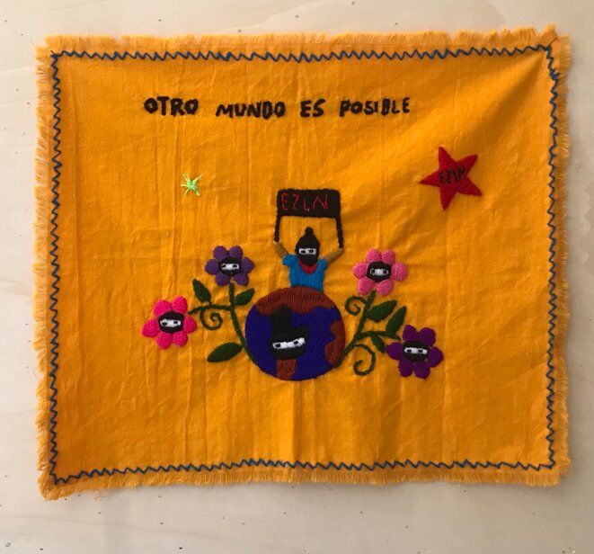 "Otro mundo es possible (Un autre monde est possible), ""La grande invasion"", galerie Salle principale, Paris, 6 juin - 18 juillet 2021 © Salle principale"