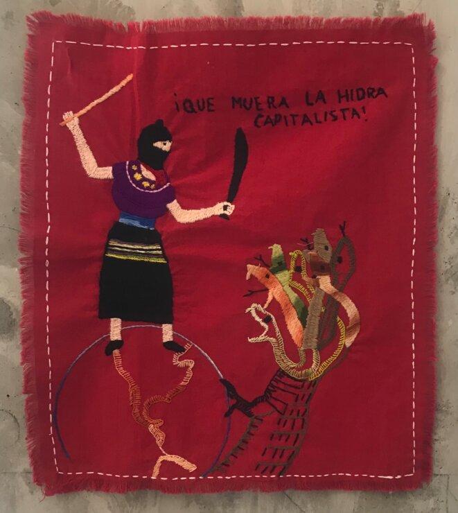 "Ique muera la hidra capitalista, ""La grande invasion"", galerie Salle principale, Paris, 6 juin - 18 juillet 2021 © Salle principale"