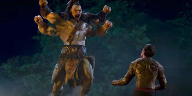"""""""Mortal Kombat"""" de Simon McQuoid © Warner Bros."""