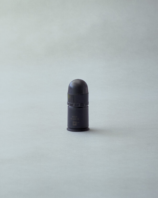 Munition LBD 40 © Rudy BURBANT