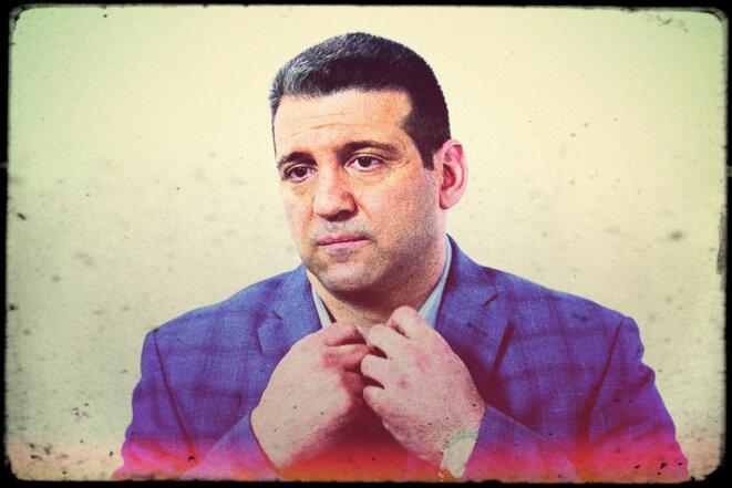 John Pennisi dans une interview de Vlad TV en 2021. © Capture d'écran YouTube