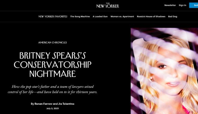Capture d'écran © The Newyorker