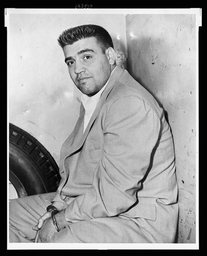 Vincent Gigante en 1957. © Photo Phil Stanziola / Library of Congress