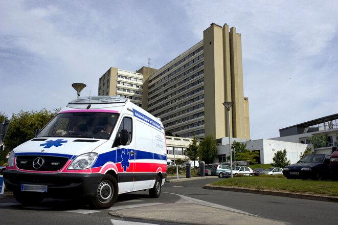 Le CHU de Poitiers en 2014. © Photo Guillaume Souvant / AFP