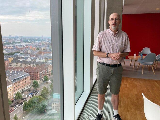 Jan Pravsgaard Christensen, professeur d'immunologie à l'université de Copenhague. © RLS