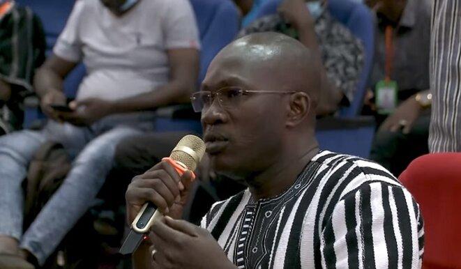 Ako Tiga Mussa Serge Dao, Président du Mouvement Fasokooz la cause du Faso, interroge Jean-Luc Mélenchon sur le concept de créolisation du monde