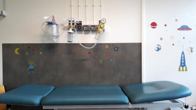Les enfants avec des fragilités ont plus de risques d'être victimes de mauvais traitements, constatent les médecins. © Clotilde de Gastines pour Mediapart