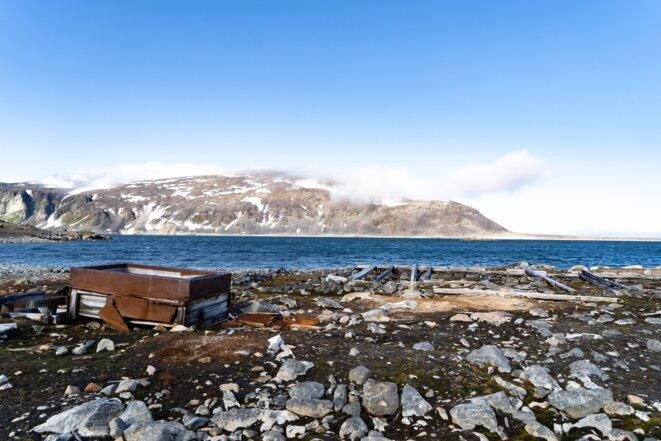 Ancienne station baleinière de Virgohamna © Roman Wipfli