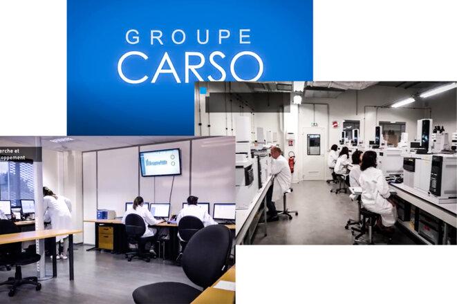 © Captures d'écran de la vidéo promotionnelle du Groupe Carso