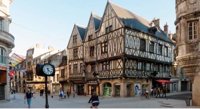 Dijon, centre ville patrimonialisé
