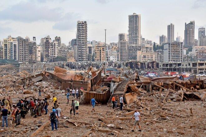 Archives/Images – Liban, un an après l'explosion à Beyrouth du 4 août 2020