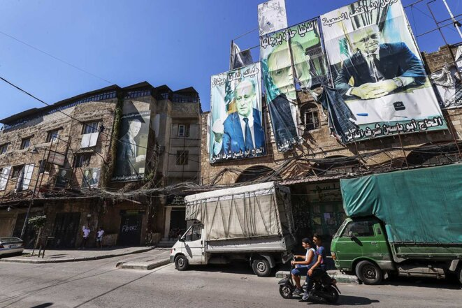 Dans les rues de Tripoli au Liban, le 22 juillet 2021. © Photo Halil Sagirkaya / Agence Anadolu via AFP