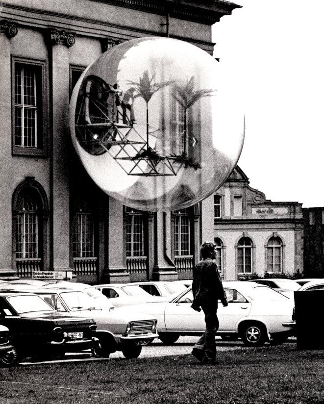 Haus-Rucker-Co, Oasis Nr. 7, documenta 5, Kassel 1972 © Haus-Rucker-Co