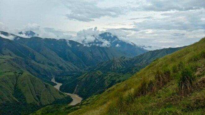 Canyon du fleuve Cauca, département d'Antioquia, Colombie © Isabel Zuleta