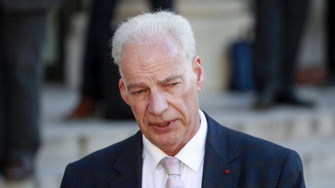 Le ministre Alain Griset © Alain Guichard