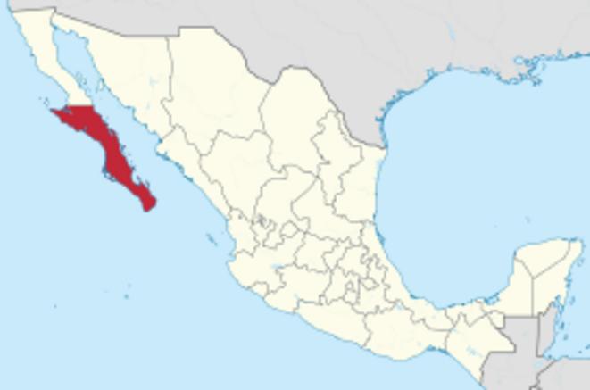 Fig.5 - Basse Californie du Sud au Mexique