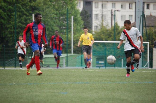 Kylian Mbappé sous les couleurs de l'AS Bondy