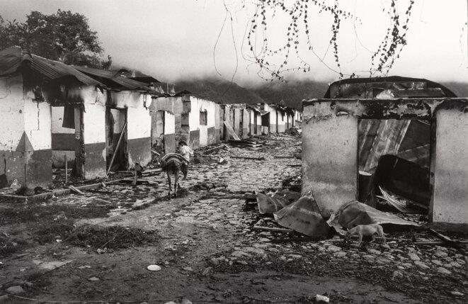 Le massacre d'El Aro, en 1997. © Photo Jesús Abad Colorado.