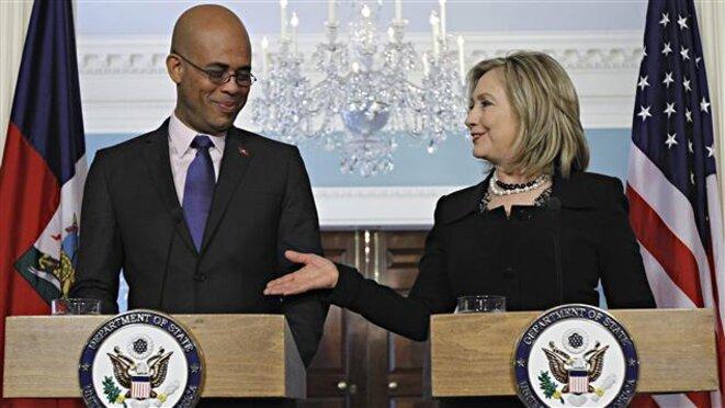 La reine et le roi du chaos haïtien de ces 10 dernières années © Erno Renoncourt