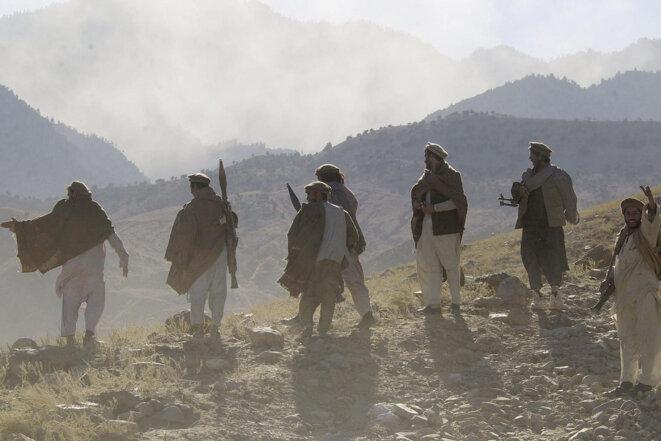 À Tora Bora, le 8 décembre 2001. © Romeo Gacad/AFP