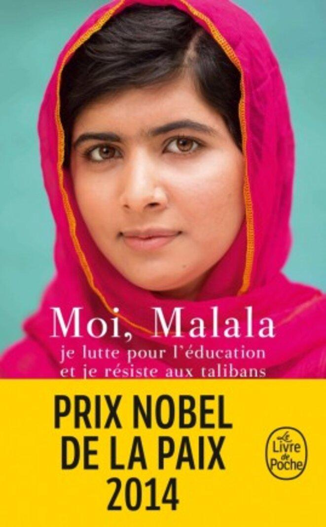 Couverture du livre témoignage de Malala © Editions du Livre de Poche