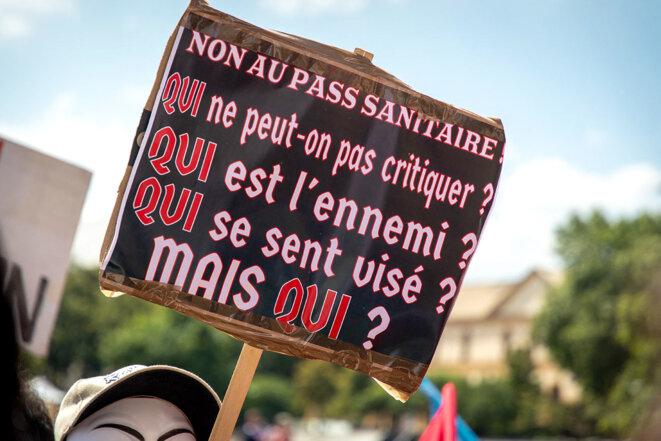 À Metz, le 14 août 2021. © Photo Nicolas Billiaux / Hans Lucas via AFP